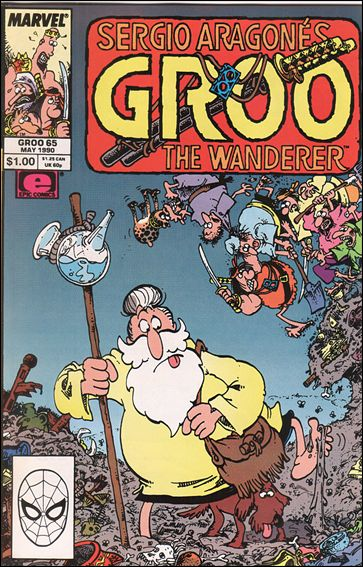 Sergio Aragones Groo the Wanderer 65-A by Epic