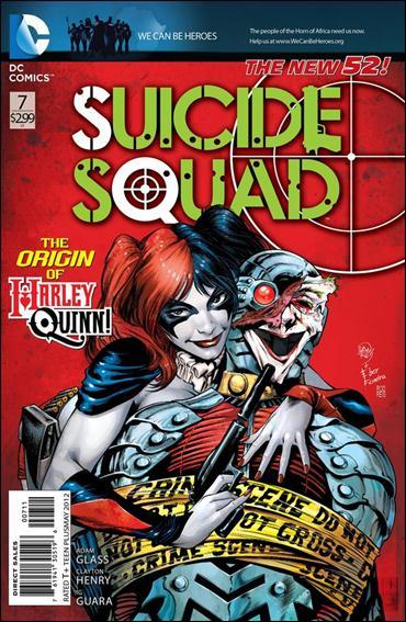 Suicide Squad (2011) 7-A by DC