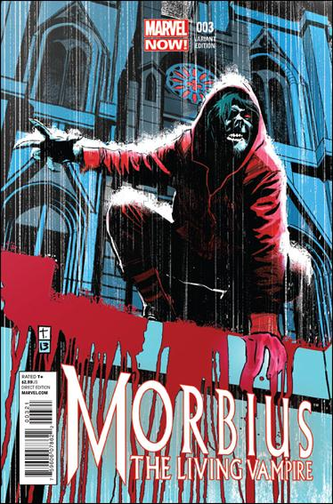 Morbius: The Living Vampire (2013) 3-B by Marvel