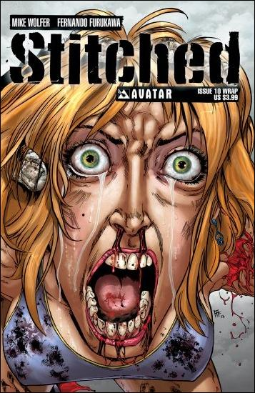 Stitched 10-B by Avatar Press
