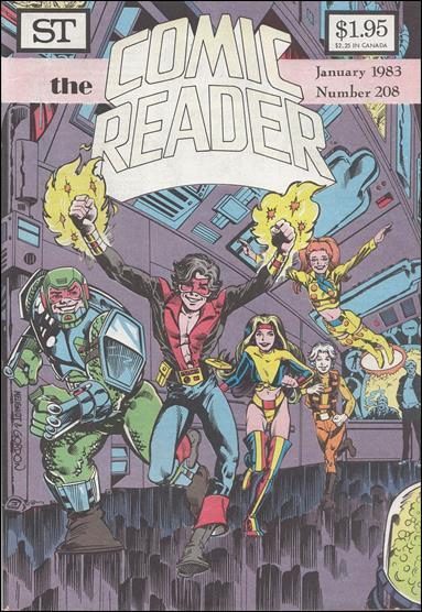Comic Reader 208-A by Street Enterprises