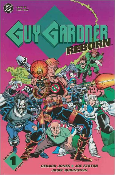 Guy Gardner Reborn 1-A by DC