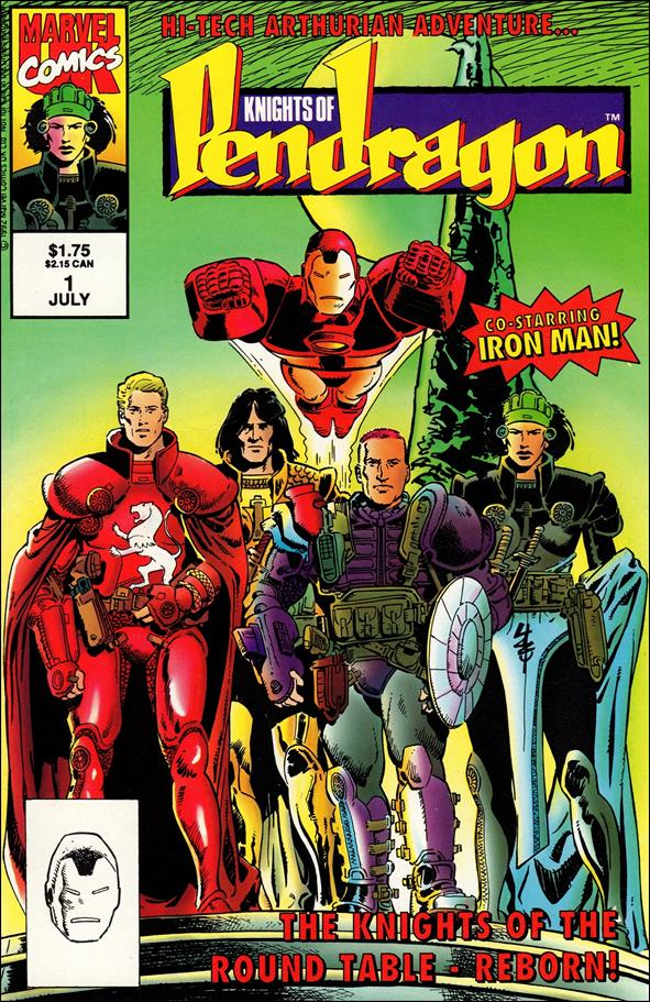 Knights of Pendragon (UK) (1992) 1-A by Marvel UK