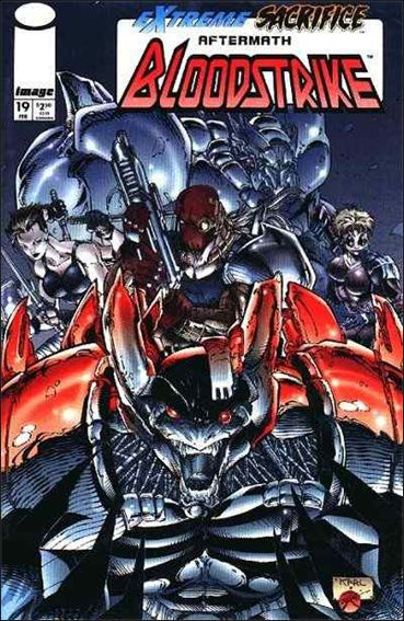 Bloodstrike (1993) 19-A by Image