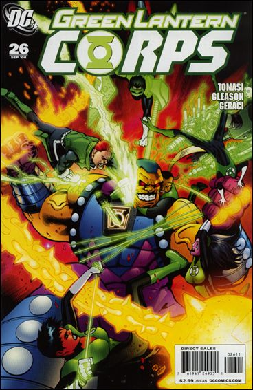 Green Lantern Corps (2006) 26-A by DC