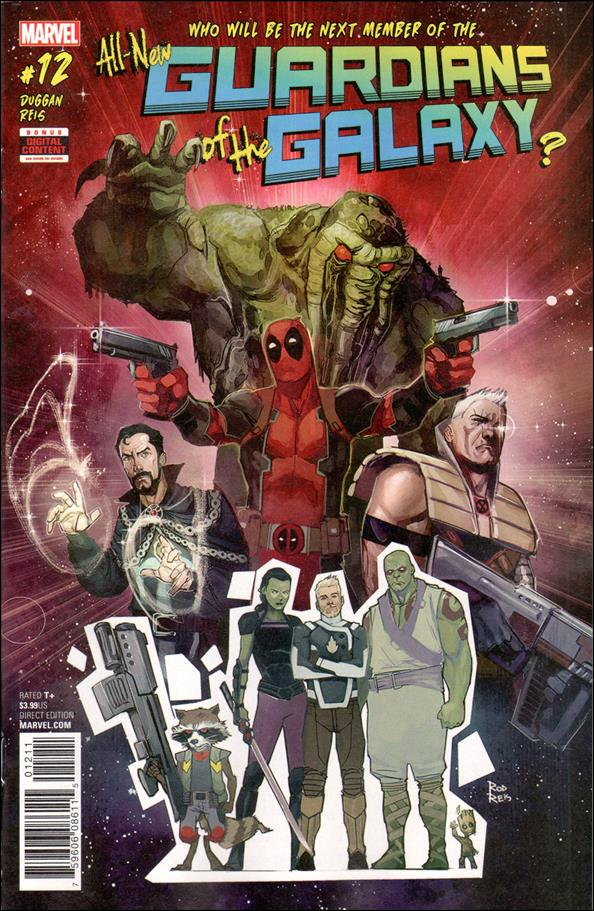 All-New Guardians of the Galaxy 12-A by Marvel