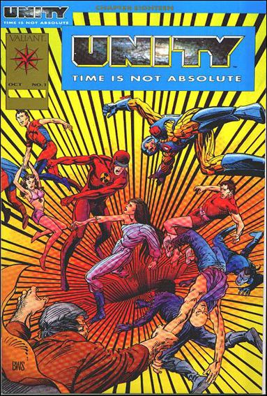 Unity (1992) 1-A by Valiant