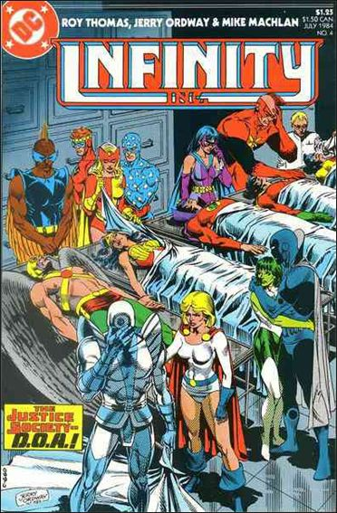 Infinity Inc. (1984) 4-A by DC
