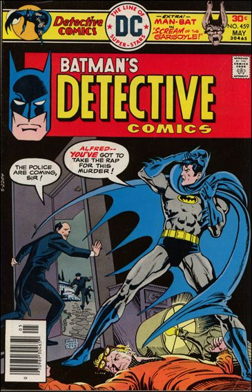 Detective Comics (1937) 459-A by DC