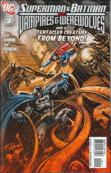 Superman and Batman vs Vampires and Werewolves 2-A by DC