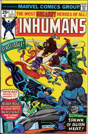 Inhumans (1975) 1-A by Marvel