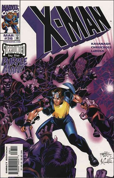 X-Man 36-A by Marvel
