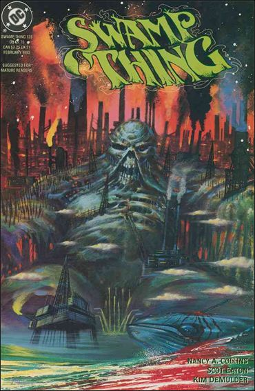 Swamp Thing (1986) 128-A by Vertigo