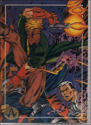 WildC.A.T.s: Set 1 (Base Set) 36-A by Topps