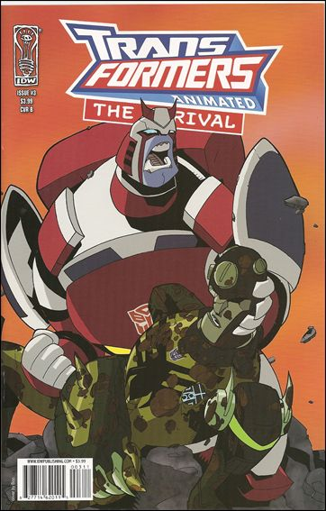 Transformers Animated: The Arrival 3-B by IDW