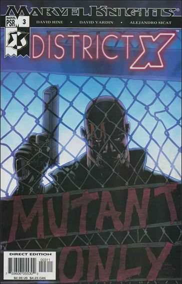 District X 3-A by Marvel