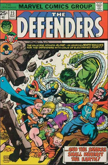 Defenders (1972) 23-A by Marvel