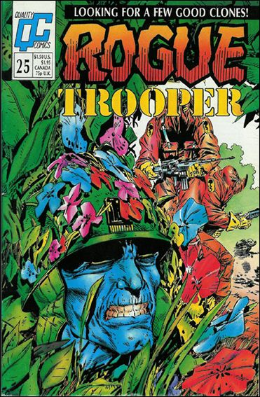 Rogue Trooper 25-A by Quality Comics