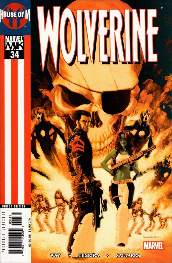 Wolverine (2003)  34-A by Marvel