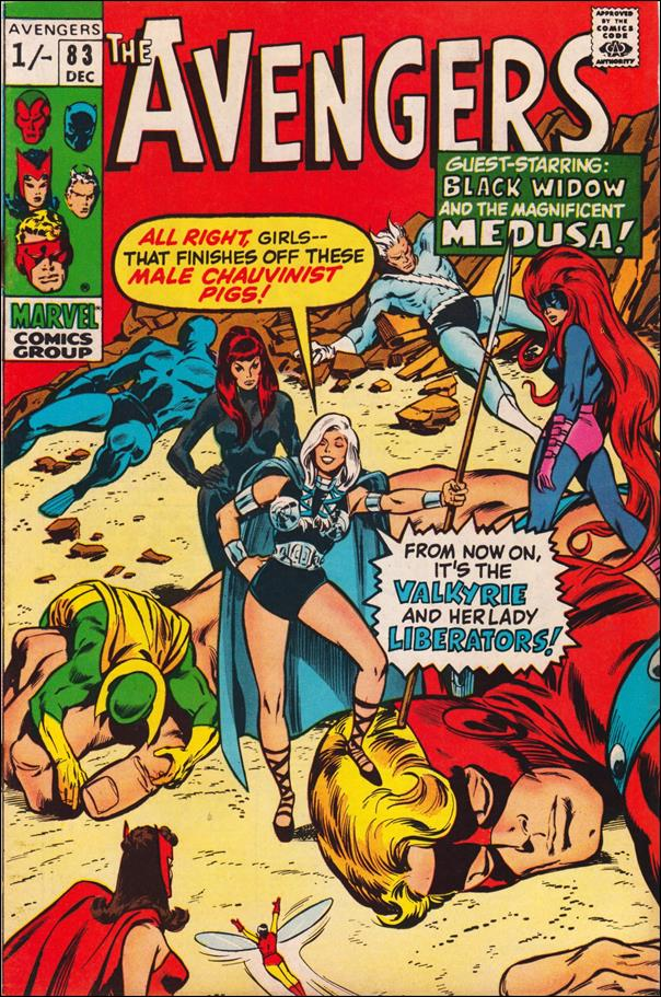 Avengers (1963) 83-B by Marvel