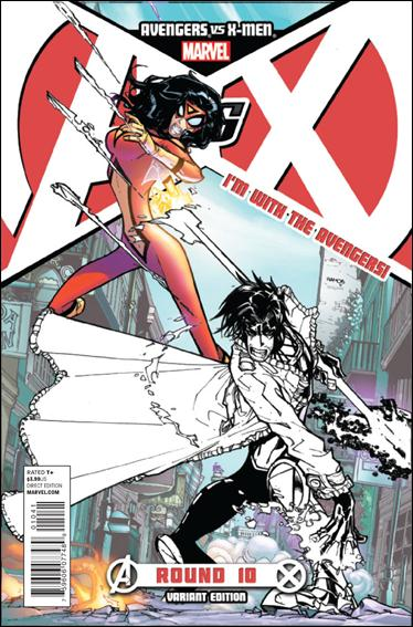 Avengers vs X-Men 10-F by Marvel