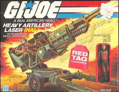 "G.I. Joe: A Real American Hero 3 3/4"" Basic Vehicles and Playsets HAL (Heavy Artillery Laser) by Hasbro"
