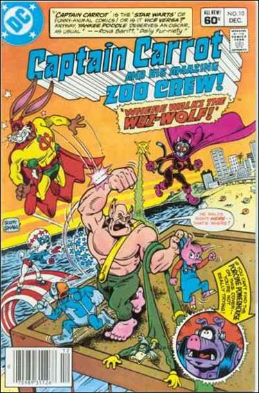 Captain Carrot and His Amazing Zoo Crew 10-A by DC