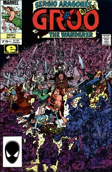 Sergio Aragones Groo the Wanderer 3-A by Epic
