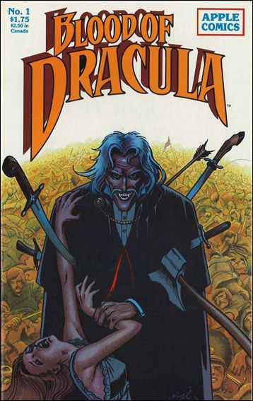 Blood of Dracula 1-A by Apple