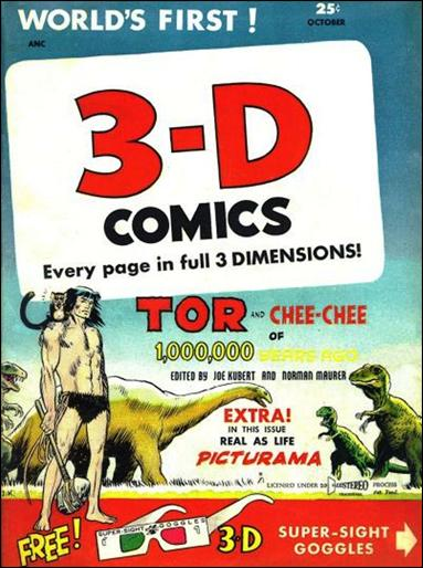 3-D Comics 2-A by St. John