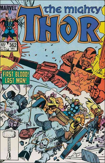 Thor (1966) 362-A by Marvel