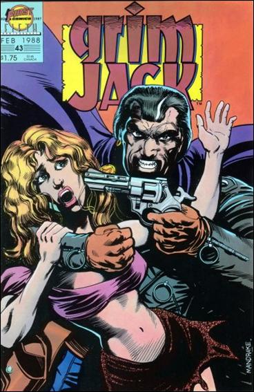 Grimjack 43-A by First
