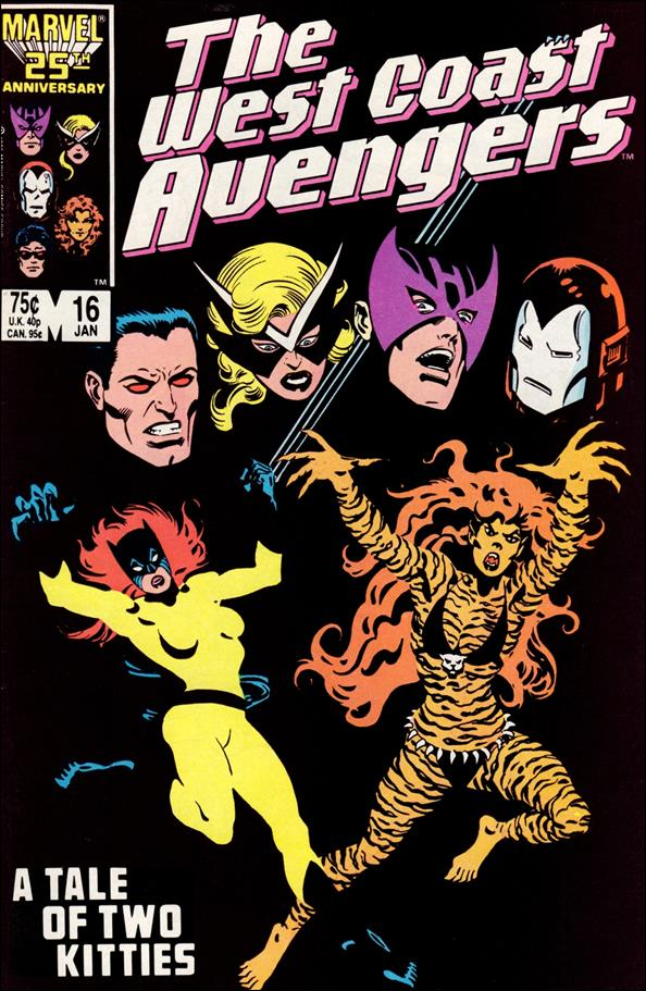West Coast Avengers (1985) 16-A by Marvel