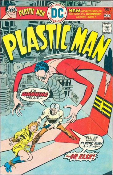 Plastic Man (1966) 12-A by DC