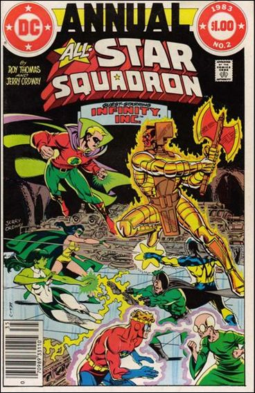 All-Star Squadron Annual 2-A by DC