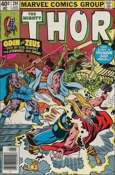 Thor (1966) 291-A by Marvel