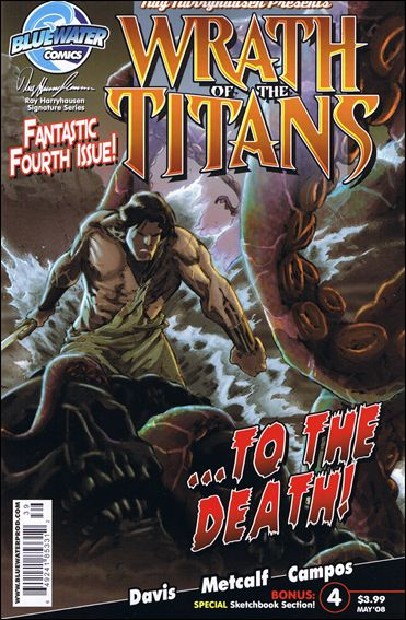 Wrath of the Titans 4-A by Bluewater Comics