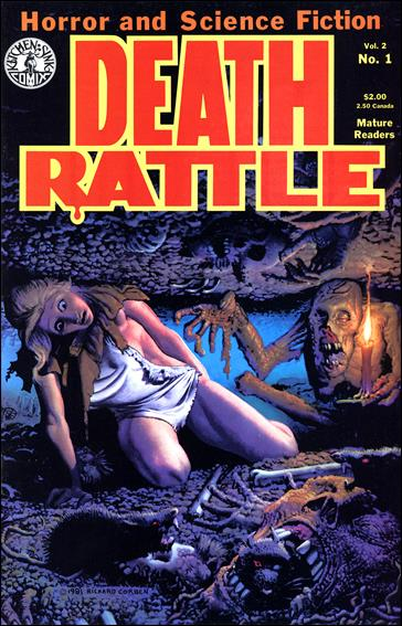 Death Rattle (1985) 1-A by Kitchen Sink