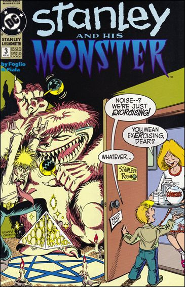 Stanley and His Monster (1993) 3-A by DC