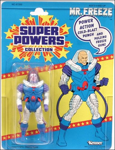 Super Powers Collection Action Figures Mister Freeze by Kenner