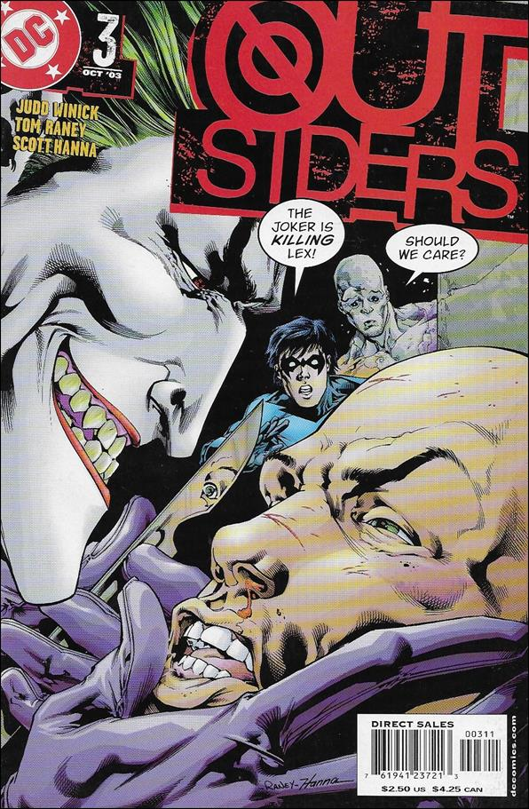 Outsiders (2003) 3-A by DC