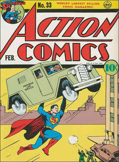Action Comics (1938) 33-A by DC