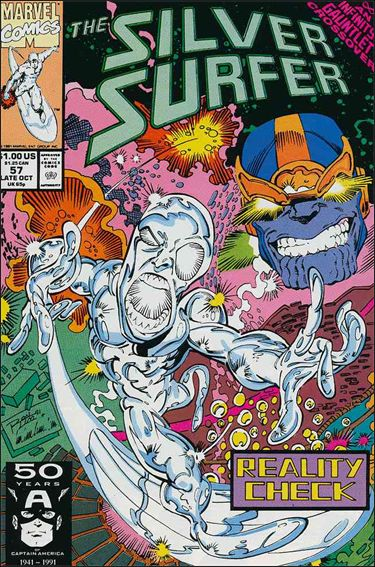 Silver Surfer (1987) 57-A by Marvel
