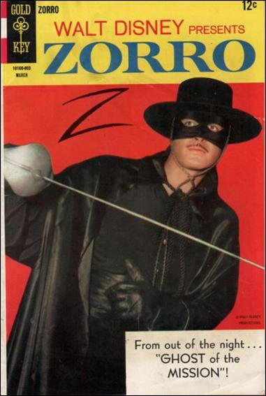 Walt Disney Presents Zorro 9-A by Gold Key