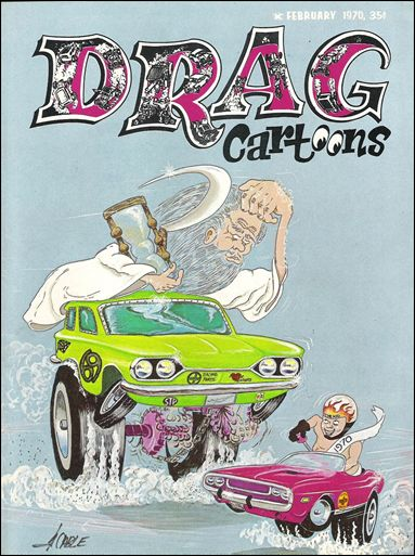 Drag Cartoons (1969) 3-A by Rex