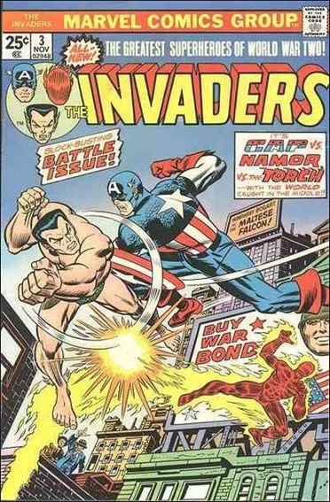 Invaders (1975) 3-A by Marvel