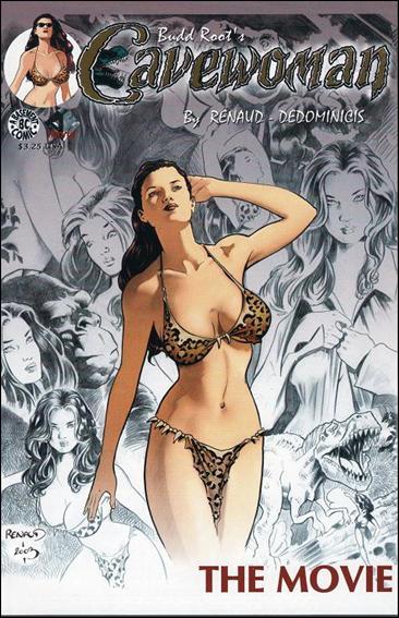 Cavewoman: The Movie 1-C by Basement Studios