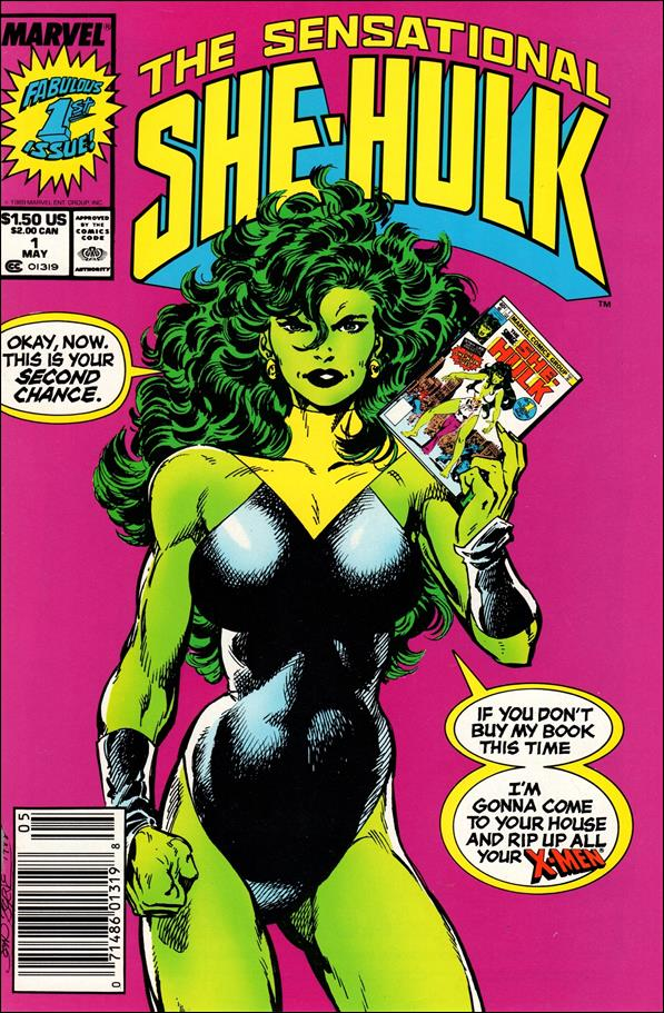 Sensational She-Hulk 1-A by Marvel