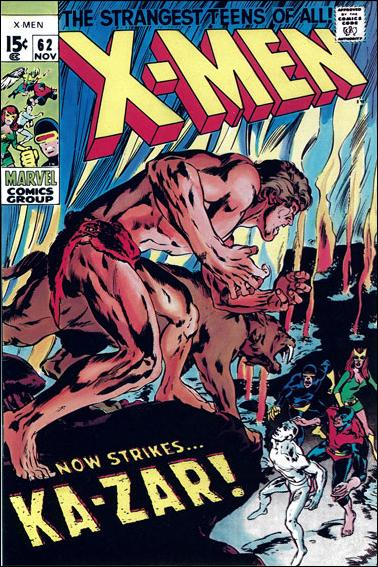 X-Men (1963) 62-C by Marvel
