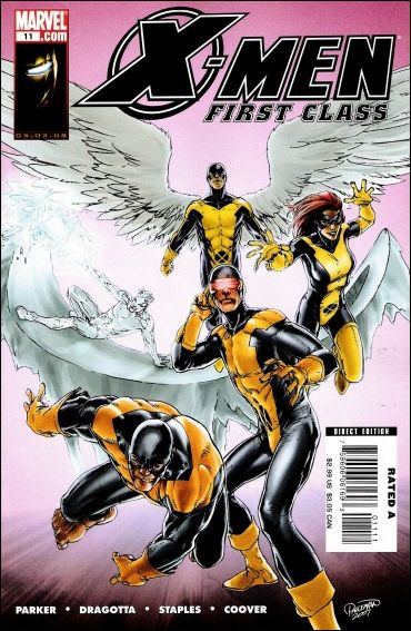 X-Men: First Class (2007) 11-A by Marvel
